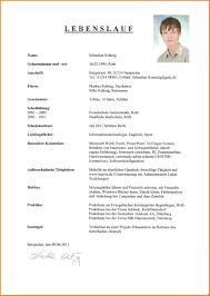13 Sch Lerpraktikum Lebenslauf Resignation Format
