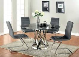 round glass dining room table astounding dining room decoration with round glass tops table and black round glass dining room table