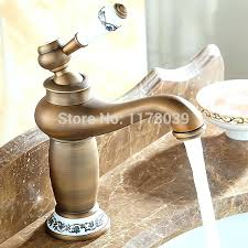 antique bronze bathtub faucets antique brass bathroom bathroom luxury lamp single hole faucet moen oil