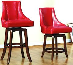 collection color red set of 2 counter height chairs hook pecan stool