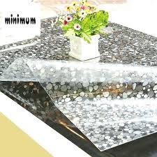 coffee table mats coffee table mats stone pattern tablecloth waterproof anti hot plastic soft glass table coffee table mats