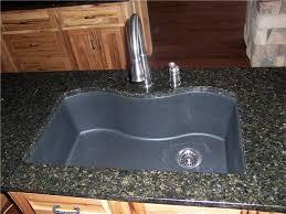 composite granite sink charlotte stainless steel 10