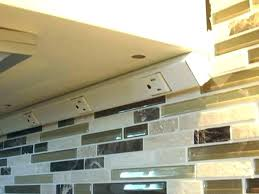 kitchen cabinet outlet. Under Cabinet Outlet Strip With Light Kitchen Power Strips 4 Angled Outlets Instead