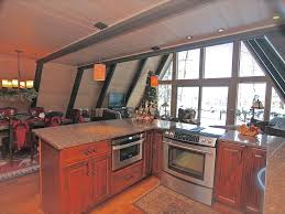 A Frame Kitchen Beautiful A Frame Chalet On Lake Minocqua Chain Minocqua