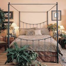 Knot Canopy Wrought Iron Bed | Humble Abode