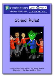 dandelion readers level 3 book 7 rules sequence oo ew ue u e