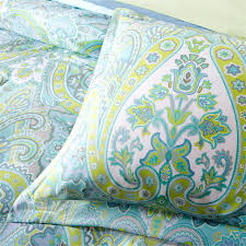 blue green paisley bedding bedroom wonderful decorative bedding design with cute paisley on for the love