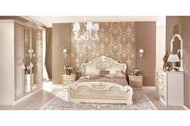 Italienisches Barock Stil Schlafzimmer Granda In Beige 6 Teilig