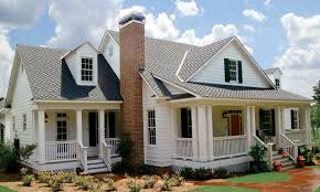 sofa beautiful country living floor plans 9 eastover cottage e2 80 93 the exterior from southern