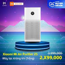 Bán [HÀNG CHÍNH HÃNG] Máy Lọc Không Khí Xiaomi Mi Air Purifier 2S FJY4015CN  (Trắng) - Hàng phân phối chính hãng, phù hợp với diện tích 21 - 37m2