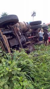 Image result for truck crushes pregnant woman ibadan