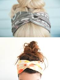 diy t shirt headband by try to do it and fine and feathered