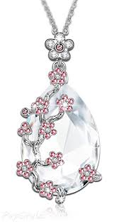 snow queen swarovski crystals flower