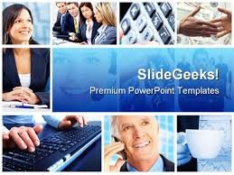 photo collage template powerpoint business collage people powerpoint template 0910 powerpoint themes
