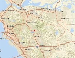 Small Earthquakes Rattle East Bay Town Of Diablo Sfgate