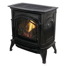 31 000 btu vent free black enameled porcelain cast iron lp gas stove
