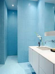 blue bathroom designs. La Shed Architecture / Montréal, Quartier Rosemont Blue Bathroom Designs L