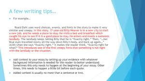 a few writing tips don t start sentences question words 5 a