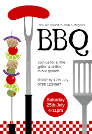barbecue invitation template free bbq invite under fontanacountryinn com