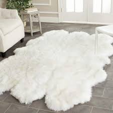 exciting faux lambskin rug 48 amazing of sheepskin area pics living room furniture