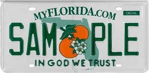 License Plates Registration Florida Department Of