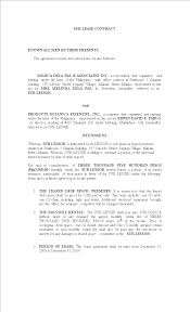 It includes provisions for the greater this sublease includes optional provisions that give the head landlord additional rights when dealing with the subtenant. Philippines Sublease Contract Templates At Allbusinesstemplates Com