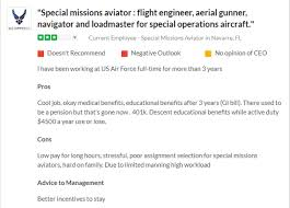 Special Missions Aviation 1a9x1 2019 Career Profile