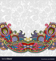 Graphic Design Paisley Paisley Design On Decorative Floral Background For