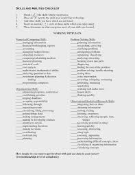 Skills And Abilities Resume Example Andties Examples Customer