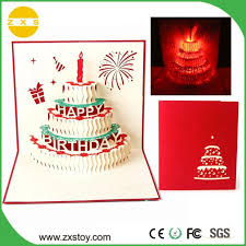 Christmas Birthday Cards Christmas Birthday 3d Laser Cut Pop Up Greeting Cards For