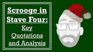 The ghost of christmas present really makes short work of scrooge by quoting him back to himself. Scrooge In Stave Four Key Quotations And Analysis Youtube