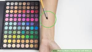 image led make a fake bruise with makeup step 1