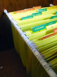 Hanging Files For Filing Cabinets The House On Hillbrook Diy Hanging File Organization