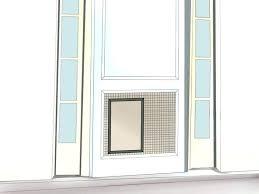 pet door installation installing a cat door cat r window insert sliding screen with dog pet pet door installation