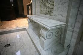 take a seat custom stone shower benches