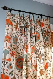custom order for etsuko suzani designer curtain panels oatmeal turquoise orange and brown