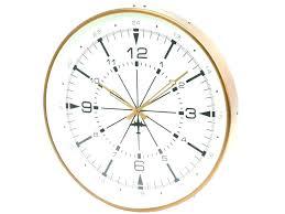 copper wall clock large clocks australia