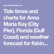 Gulf Tide Chart Tide Times And Charts For Anna Maria Key City Pier