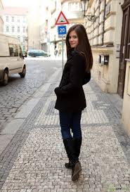 Shaved Babe Caprice A with Plump Pussy Wearing Black Dress Image. black dress Caprice A corset jeans Little Caprice modest no tattoos plump pussy pozitivcity satin