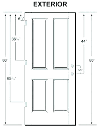 standard internal door frame sizes uk best photos of