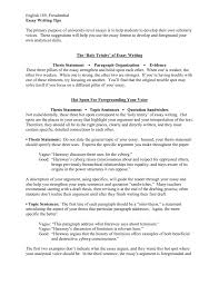 Tips For Resume Objective Essay Writing Tips How To Improve English Skills 008050