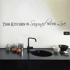 Small Picture Aliexpresscom Buy love kitchen quotes wall stickers decorations