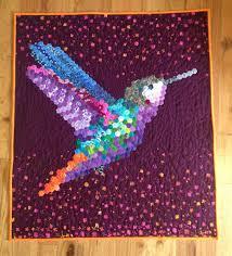 Hexie Hummingbird Quilt Finish! – I Think Sew & Hexie Hummingbird Finish Adamdwight.com