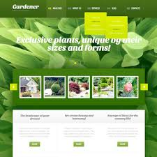 Websites Templates Extraordinary Landscape Design Website Templates