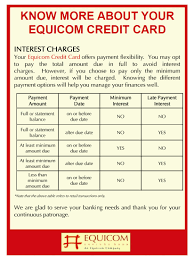 know more about your equi card