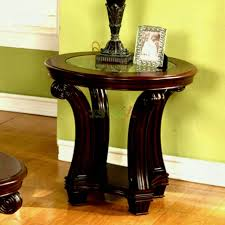 end tables living room. Furniture:Coffee Tables Perseus Round End Table Living Room Furniture And Slate Tile Top Sedona