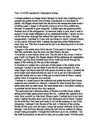 descriptive writing   gcse english   marked by teacherscom page  zoom in