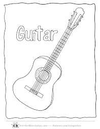 Small Picture Guitar Hero Coloring Pages Coloring Home