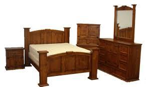 rustic bedroom furniture. Rustic Estate Mansion Bedroom Set - King Size Bed Real Wood Furniture Free S/