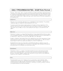 Speech Therapy Progress Notes Template Beautiful Sample Soap